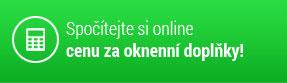 Spočítejte si online cenu za okenní doplňky