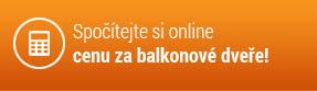 Spočítejte si online cenu za balkonové dveře