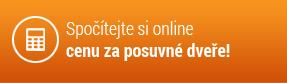 Spočítejte si online cenu za posuvné dveře