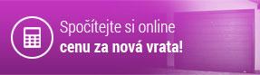 Spočítejte si online cenu za nová vrata!