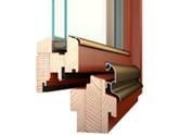 Jak se barví dřevěné okenní rámy